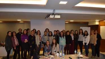 30 Kasım -01 Aralık 2019 tarihinde Dedeman Gayrettepe İstanbul'da Linda Graham MFT tarafından verilen Psikolojik Sağlamlık:Sıkıntıları Öğrenmeye ve Büyümeye Dönüştürmek başlıklı atölye çalışmamız tamamlandı.